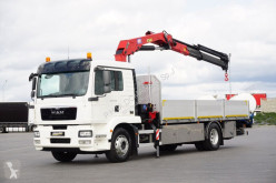 Camion plateau occasion MAN TGM - / 18.290 / E 5 / SKRZYNIOWY + HDS