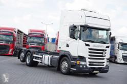 Camion porte containers Scania R 450 / E 6 / BDF / SC / ACC / AMA 7,3 M