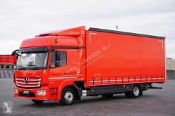 Ciężarówka Plandeka używana nc MERCEDES-BENZ - ATEGO / 1224 / EURO 6 / ACC / FIRANKA / ŁAD. 5750