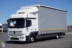 Camion nc MERCEDES-BENZ - ATEGO / 1224 / ACC / EURO 6 / FIRANKA / 18 PALET savoyarde occasion