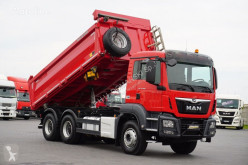 Camion MAN TGS - / 33.460 / E 6 / 6 X 4 / 3 STRONNY WYWROT benne occasion