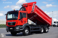 Camion benne MAN TGS / 33.460 / E 6 / 6 X 4 / 3 STRONNY WYWROT