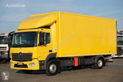 Insulated truck MERCEDES-BENZ ATEGO / 1221 / E 6 / IZOTERMA + WINDA / 15 PALET