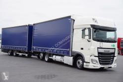 Ciężarówka DAF - 106 / 460 / SSC / EURO 6 / ZESTAW PRZEJAZDOWY 120 + remorque firanka używana