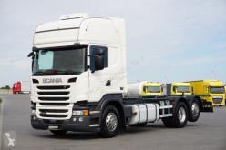 Ciężarówka podwozie Scania R - 450 / E 6 / BDF / SC / ACC / AMA 7,3 M 3 OSIE