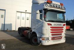 Camión Scania R 560 Highline 6x2 Hooklift JOAB L20 Gancho portacontenedor usado