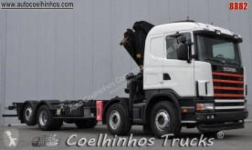 Used flatbed truck Scania G 144G530