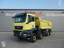 Camion benne occasion MAN TGS TGS 41.440 BB 8x8 Meiller Mulde, hydr. Klappe,AP