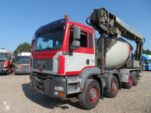 Камион бетон миксер MAN TGA 35.390 8x4 Stetter 9 m3 THEAM 14+4