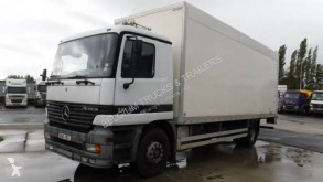Mercedes Actros 1835 truck used plywood box