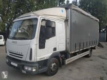 Camión tautliner (lonas correderas) Iveco Eurocargo 80 EL 18 tector