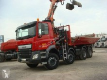Used two-way side tipper truck DAF CF 410