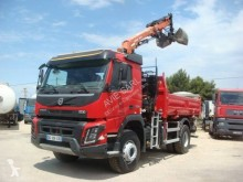 Used two-way side tipper truck Volvo FMX 330