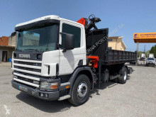 Camion benă trilaterala second-hand Scania L 94L260