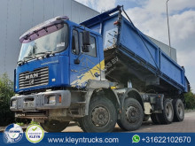 MAN three-way side tipper truck F2000