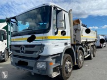 Used two-way side tipper truck Mercedes Actros 3241