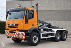 Iveco Trakker 450 truck used hook arm system