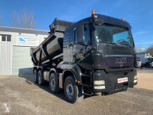 MAN TGS 35.480 truck used half-pipe tipper