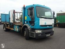 Camion cassone trasporto bombole di gas usato Renault Premium 270