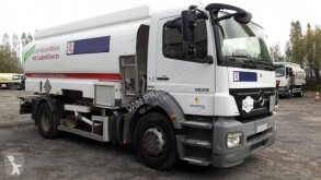 Mercedes Axor 1829 NL truck used oil/fuel tanker
