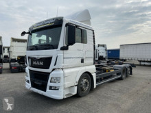 Ciężarówka podwozie używana MAN TGX 26.440 6 x 2 LL BDF- Wechsel LKW