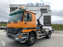 Camion multibenne occasion Mercedes 1835 4x2 Palift Haken + Palfinger 14600