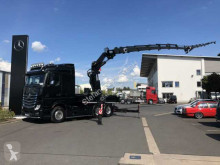 Camion plateau occasion Mercedes Actros Actros 2642 L 6x4 MKG HLK 531 HP a6 JIB + Winde