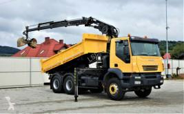 Iveco TRAKKER 380 Kipper 4,50m+Kran/FUNK*6x4*Topzustan truck used tipper