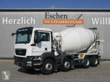 Camión MAN TGS 35.400 8x4 BB, Liebherr 9 m³, 5 Blattfedern hormigón cuba / Mezclador usado