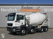 Camion béton toupie / Malaxeur occasion MAN TGS 35.400 8x4 BB, Liebherr 9 m³, 5 Blattfedern