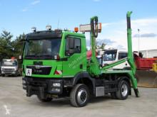 Camion dublu MAN TGM TG-M 15.290 4x4 BL Absetzkipper Winterdienstplatte