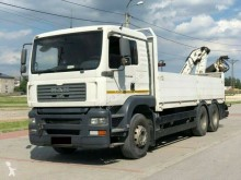 MAN TGA 28.390 truck used flatbed