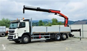 Camion plateau Volvo FMX 330