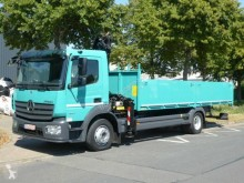 Used flatbed truck Mercedes Atego 1227