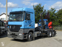 Mercedes Actros 2544 L6x2 Abrollkipper Lenk+Lift Meiller truck used hook arm system