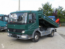 Mercedes three-way side tipper truck Atego Mercedes Atego Aufbau: Meiller 3-Seiten Stahl