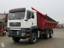 MAN three-way side tipper truck TGA TG-A 26.390 DFAK 6x6 3-Achs Allradkipper 6x6 Schaltr