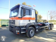 Used hook arm system truck MAN