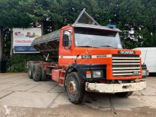 Scania two-way side tipper truck 113 320