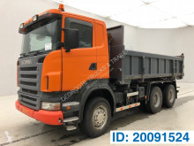 Camion benă bilaterala second-hand Scania R 420