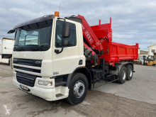 Used two-way side tipper truck DAF CF75 310