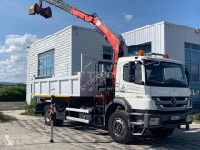 Used two-way side tipper truck Mercedes Axor 1829