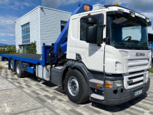 Camion Scania P 380 transport utilaje second-hand