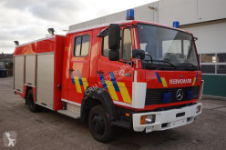 Mercedes 817 truck used fire