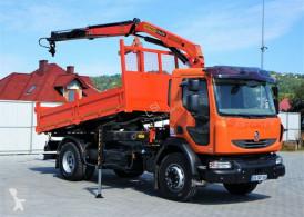 Camion Renault MIDLUM 240DXI Kipper 4,20m+Kran*4x2*Topzustand! tri-benne occasion