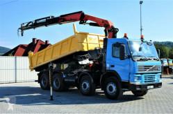 Camion benne Volvo FM 12 380 Kipper 5,20m+Kran/FUNK*8x4!