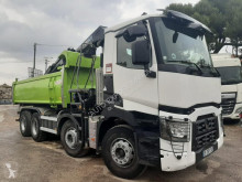 Used two-way side tipper truck Renault Gamme T 460