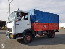 Camião caixa aberta com lona Mercedes 809