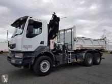 Renault two-way side tipper truck Kerax 370.26 DXI
