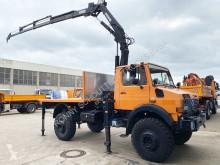 Kamion Unimog U 1850 L 4x4 U 1850 L 4x4 mit Kran MKG HLK 140, 18,3m-270kg! použitý